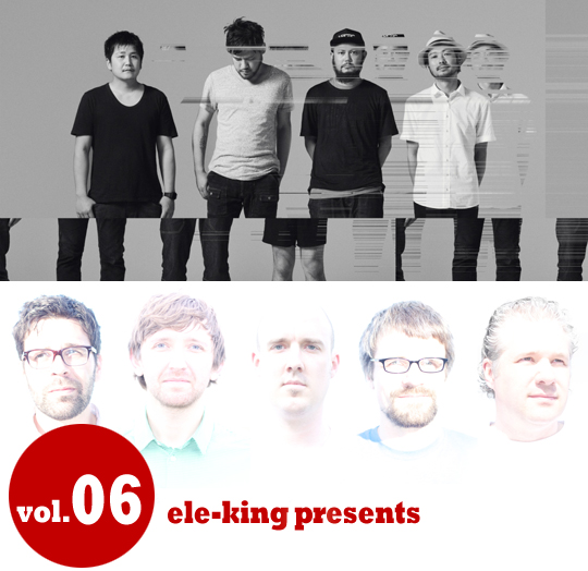 ele-king presents <br/>toe / collections of colonies of bees Japan Tour 2014