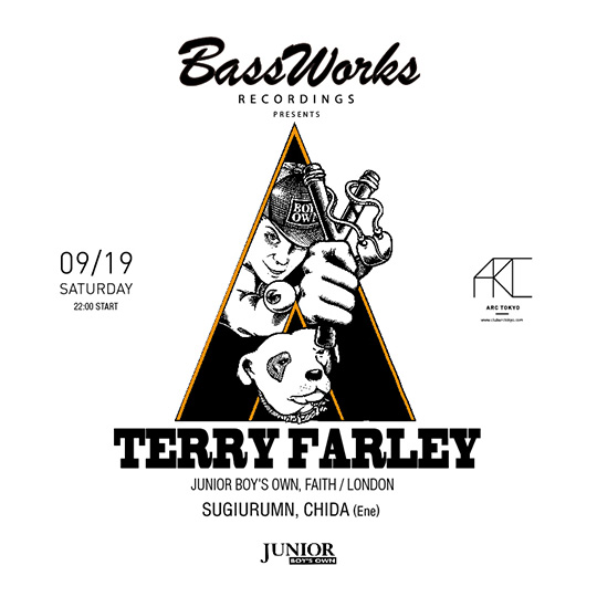 BASS WORKS RECORDINGS presents Terry Farley