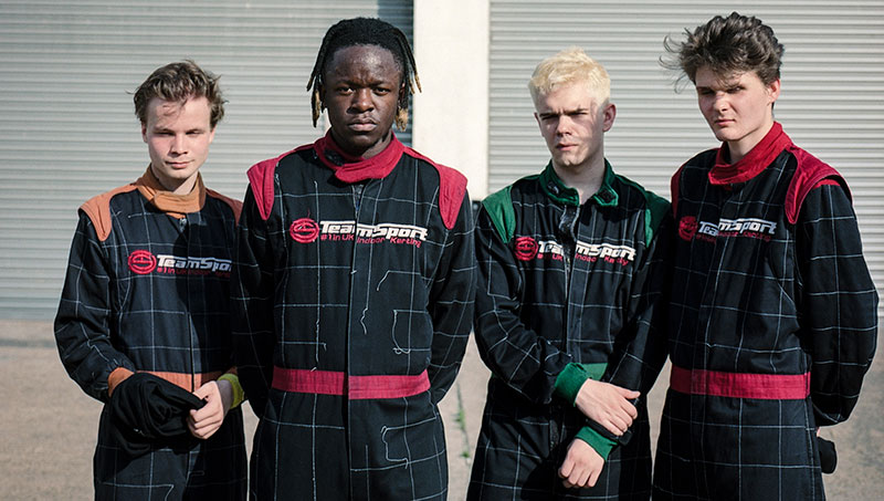 interview with Black Midi