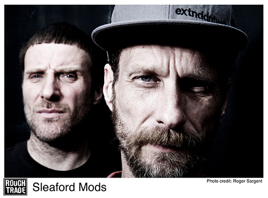 interview with Sleaford Mods(Jason Williamson)
