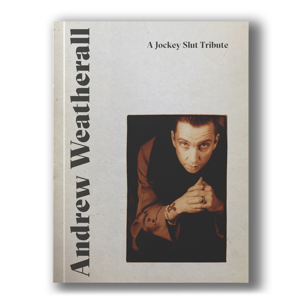Andrew Weatherall tribute book